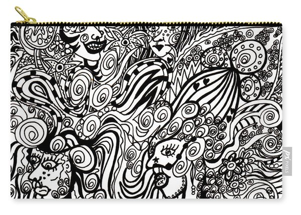 Blowing In The Breeze Carry-all Pouch