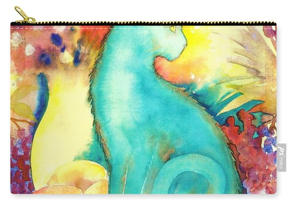 Blue Damsel Carry-all Pouch