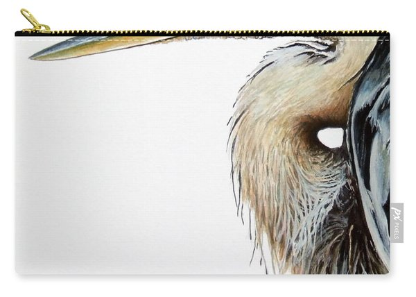 Blue Heron Study Carry-all Pouch