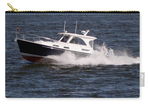 Boating On The Bay Carry-all Pouch