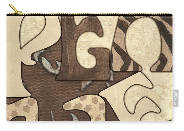 Bohemian Peace Carry-all Pouch