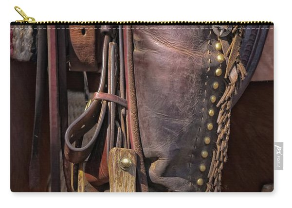 Boots Of A Drover Carry-all Pouch