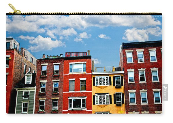 Boston Houses Carry-all Pouch