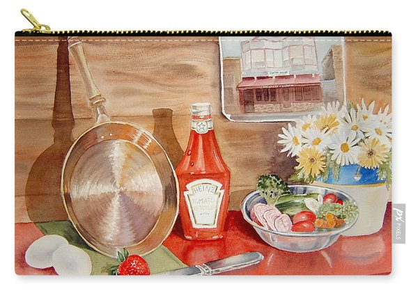 Breakfast At Copper Skillet Carry-all Pouch