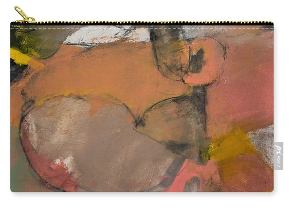 Carry-all Pouch featuring the painting Breastbone by Cliff Spohn