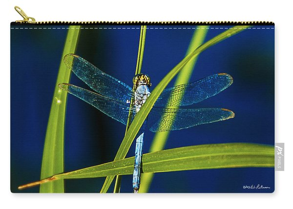Brilliant Dragon Fly Carry-all Pouch