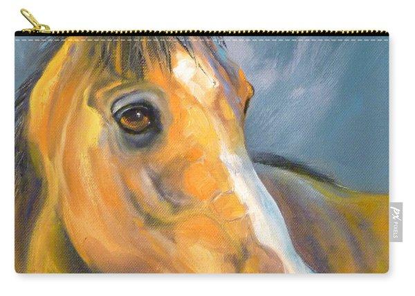 Buckskin Sport Horse Carry-all Pouch