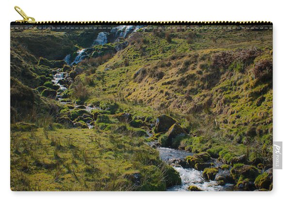 Calmness At The Falls Carry-all Pouch
