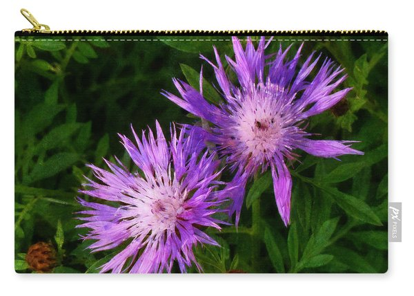 Can Flowers Say Boo Carry-all Pouch