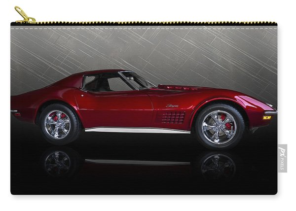Candy Apple Corvette Carry-all Pouch