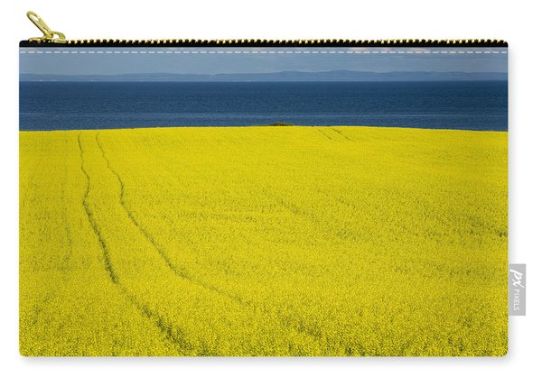 Canola Field, Guernsey Cove, Prince Carry-all Pouch