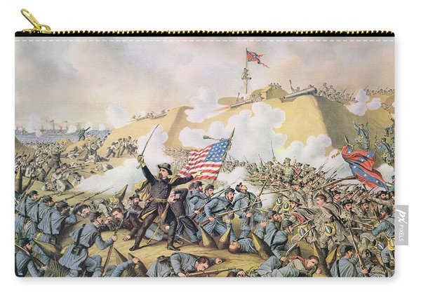 Capture Of Fort Fisher 15th January 1865 Carry-all Pouch