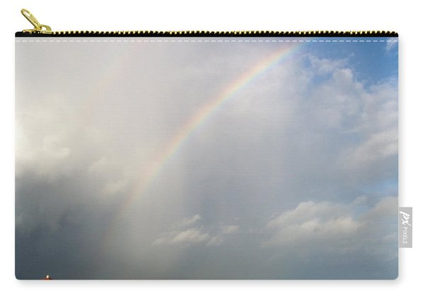 Carry-all Pouch featuring the photograph Caribbean Rainbow by Cynthia Amaral