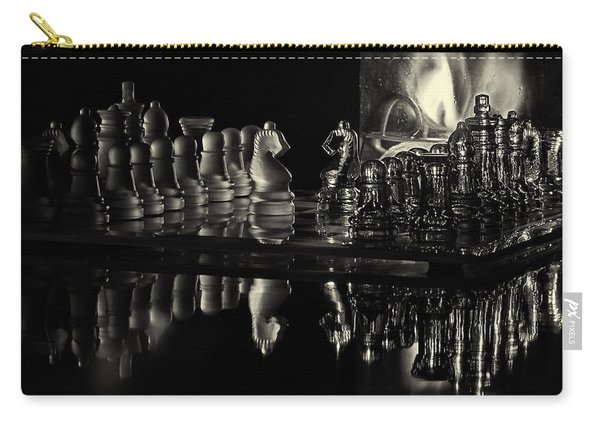Chess By Candlelight Carry-all Pouch