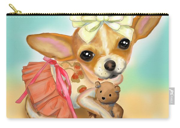 Chihuahua Princess Carry-all Pouch