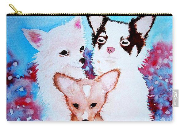 Chihuahuas Carry-all Pouch