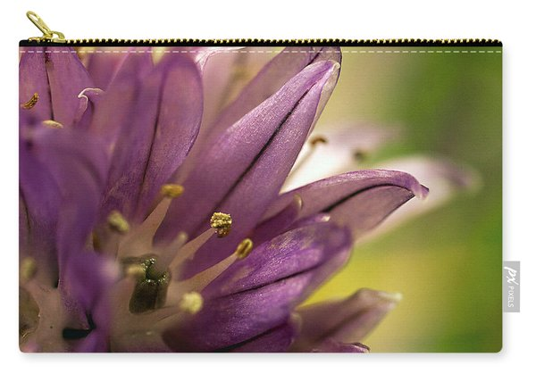 When  Chives  Blossom Carry-all Pouch