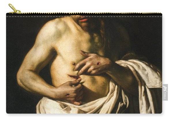 Christ Displaying His Wounds Carry-all Pouch