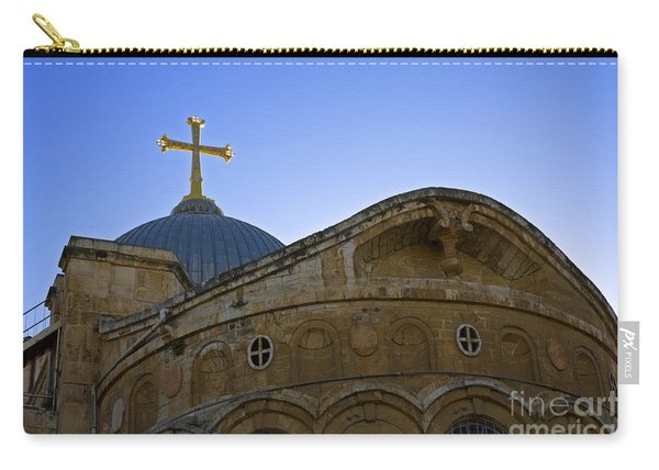church of the Holy Sepulchre Old city Jerusalem Carry-all Pouch