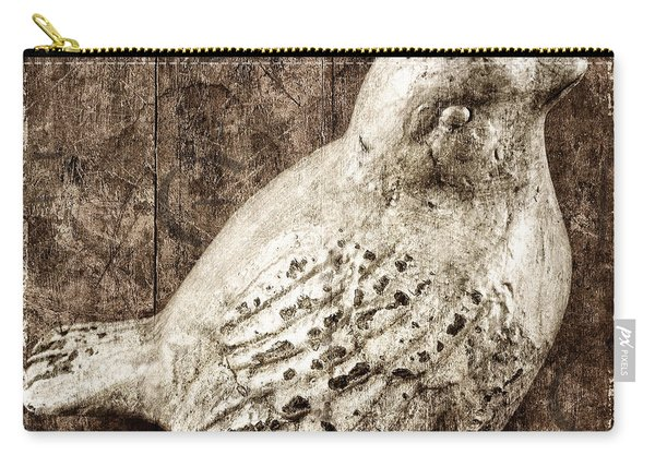 Clay Bird Carry-all Pouch