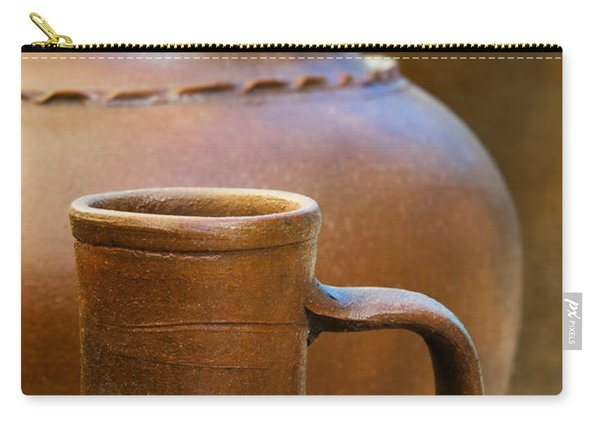 Clay Pottery Carry-all Pouch