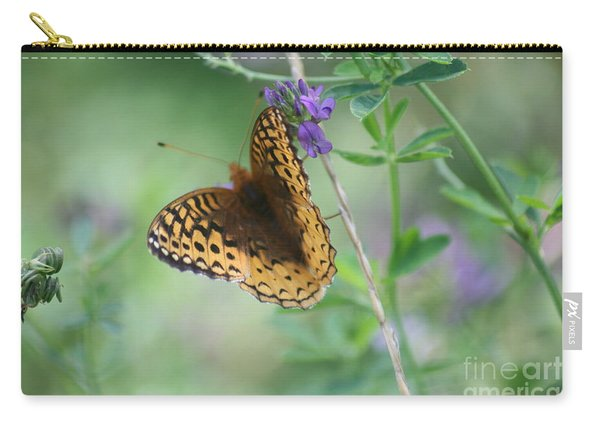 Close-up Butterfly Carry-all Pouch
