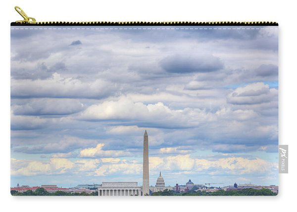 Clouds Over Washington Dc Carry-all Pouch