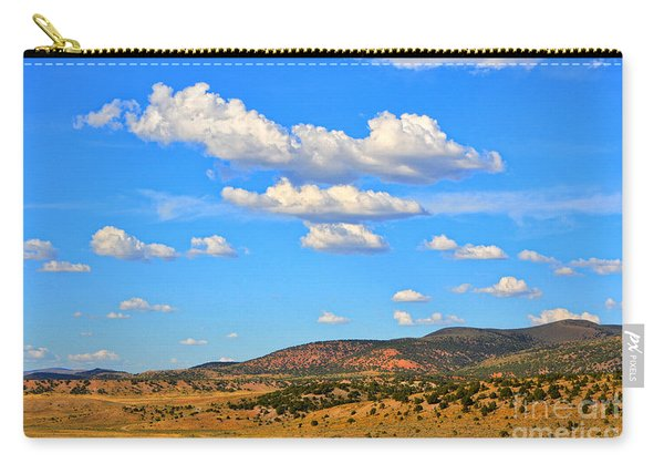 Cloudy Wyoming Sky Carry-all Pouch