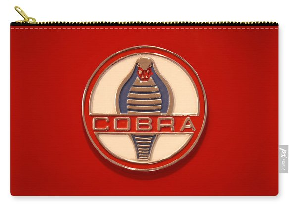 Cobra Emblem Carry-all Pouch