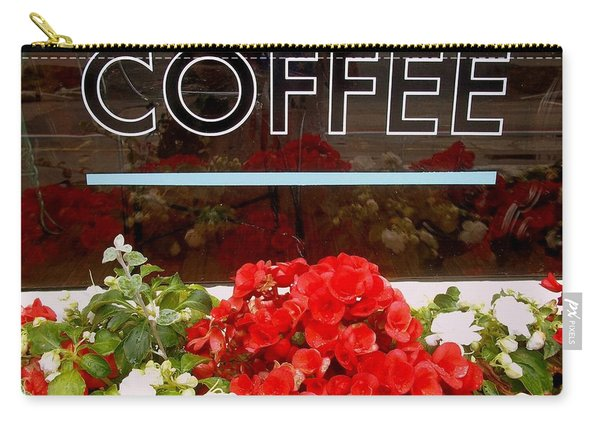 Carry-all Pouch featuring the photograph Coffee by Cynthia Amaral