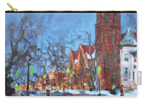 Cold Morning In Elmwood Ave  Carry-all Pouch