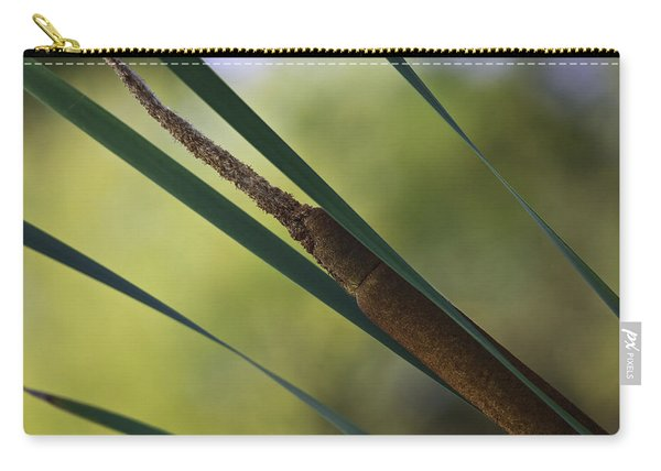 Common Cattail Carry-all Pouch