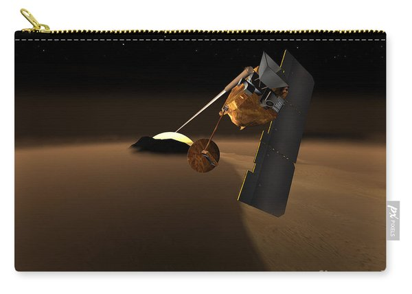 Concept For Mars Volcanic Emission Life Carry-all Pouch