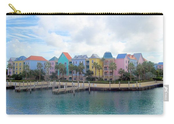 Carry-all Pouch featuring the photograph Condo Living by Cynthia Amaral