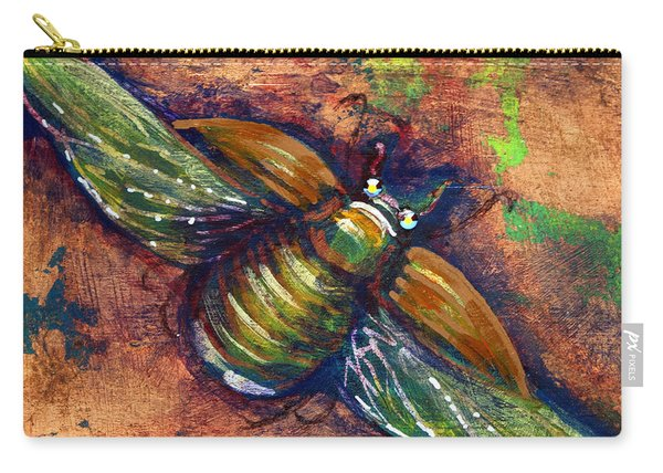 Copper Beetle Carry-all Pouch