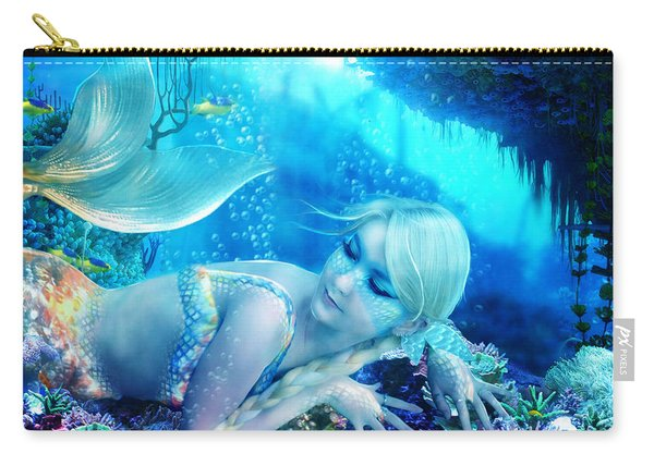 Coral Dreams Carry-all Pouch