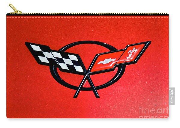 Corvette Logo Carry-all Pouch