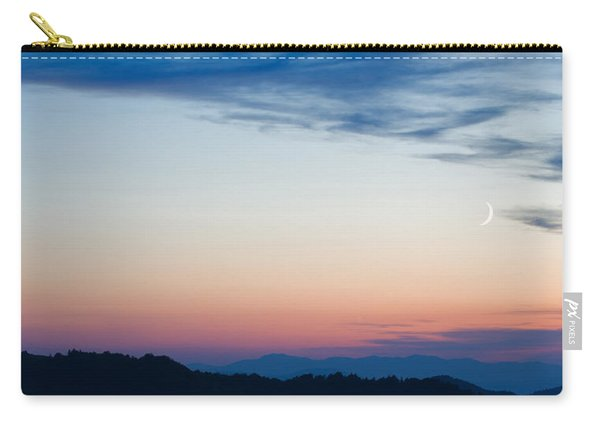 Crescent Moon Twilight Carry-all Pouch