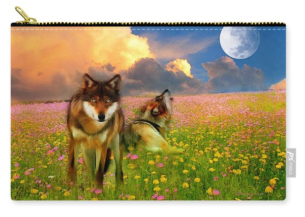 Cry At The Moon Carry-all Pouch
