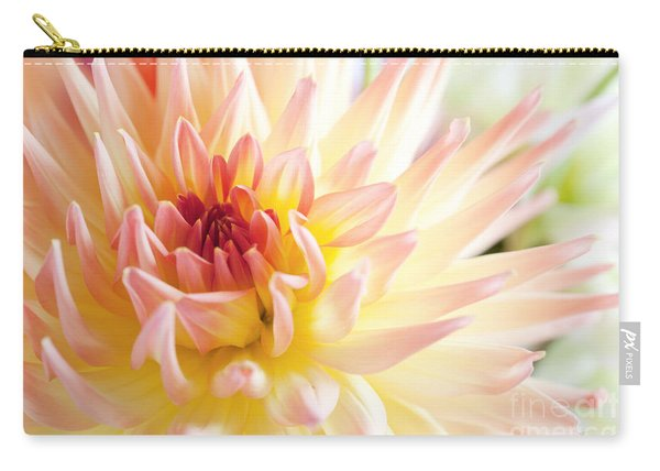 Dahlia Flower 01 Carry-all Pouch