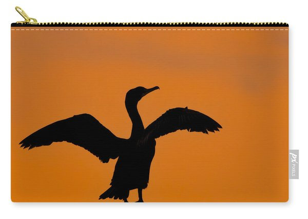 Dawn Of A Double-crested Cormorant  Carry-all Pouch