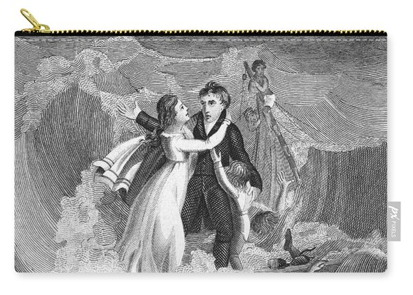 Death Of Missionary, 1822 Carry-all Pouch
