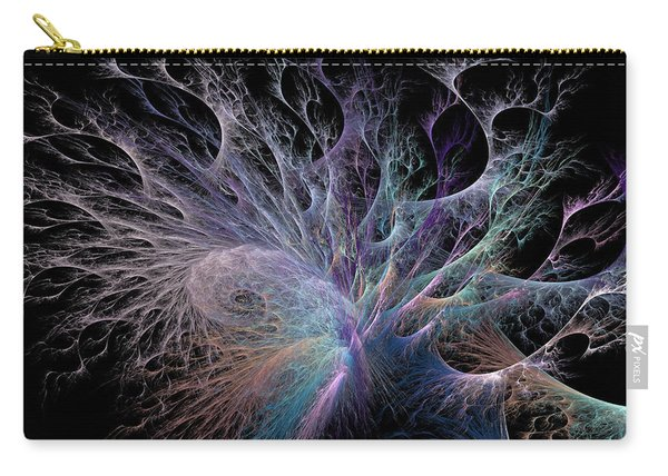 Deep Sea Coral Carry-all Pouch