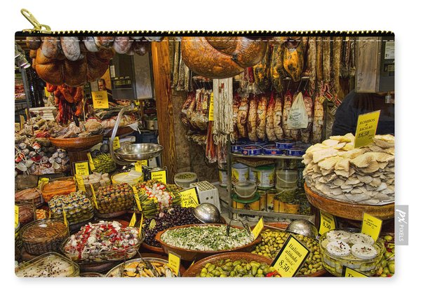 Deli In The Olivar Market In Palma Mallorca Spain Carry-all Pouch