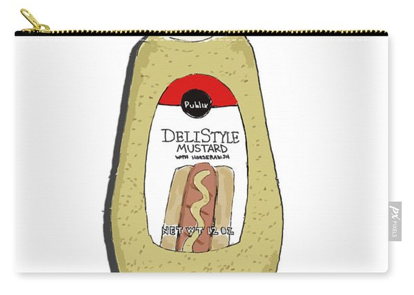 Deli Style Mustard Carry-all Pouch