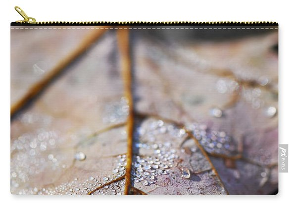 Dewy Leaf Carry-all Pouch