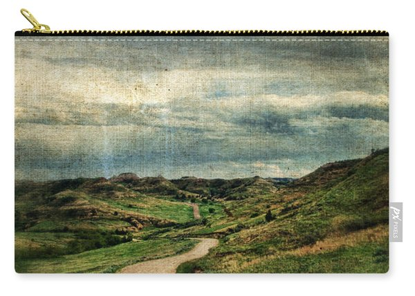 Dirt Road In North Dakota Carry-all Pouch