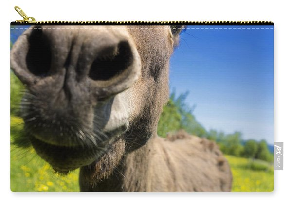 Donkey. Closeup Carry-all Pouch