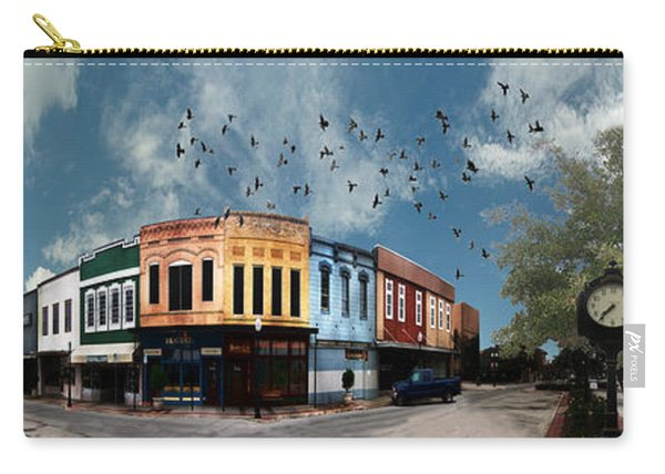 Downtown Bryan Texas 360 Panorama Carry-all Pouch