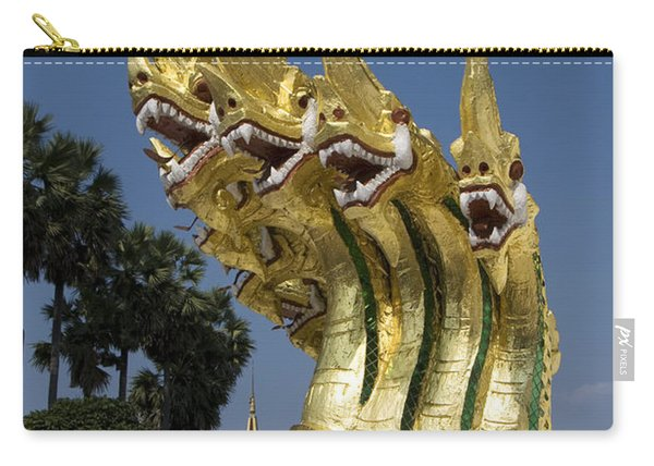 Dragon Sculptures Carry-all Pouch